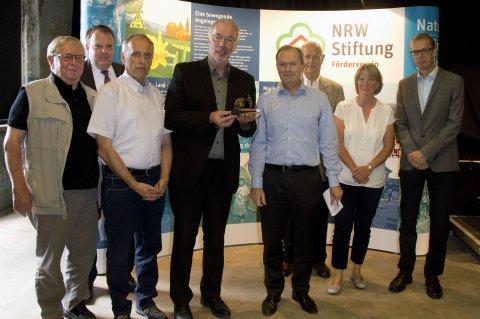 Übergabe des Ehrenamtspreises der NRW-Stiftung